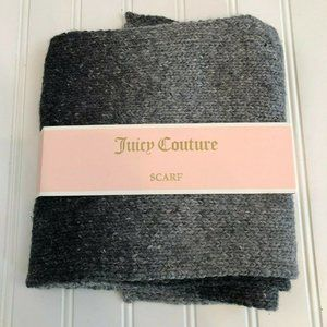 """Juicy Couture Ombre Scarf 60"""" x 8"""" Gray Classic"""
